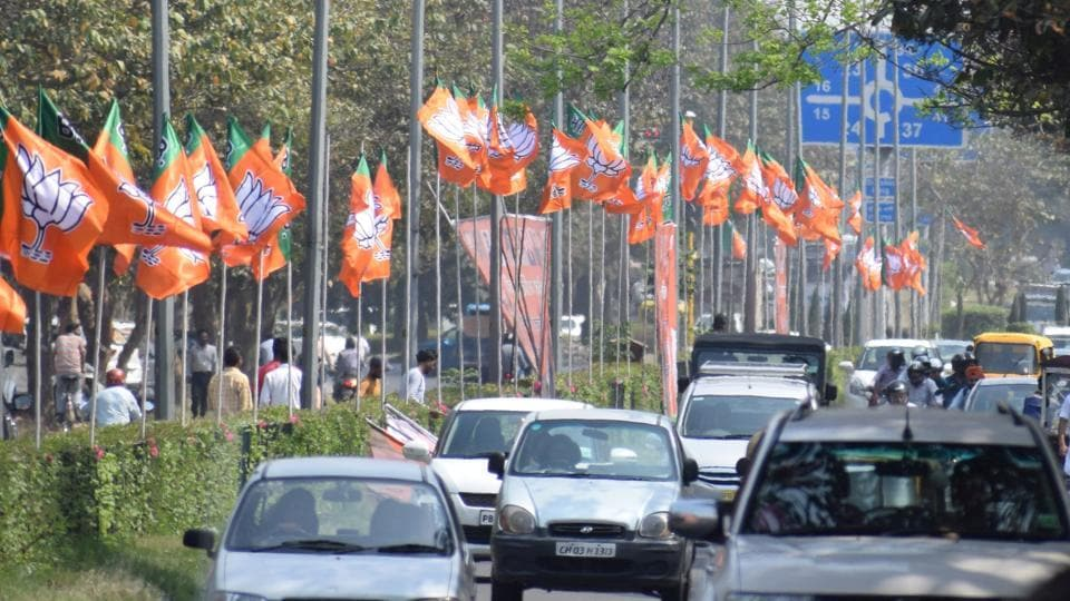 On April 8, BJP's Punjab wing had put up banners and flags across the city to welcome its newly elected state unit president Shwait Malik. This is in violation of the Advertisement Control Order, 1954. But, a month later, no action has been taken against the party.