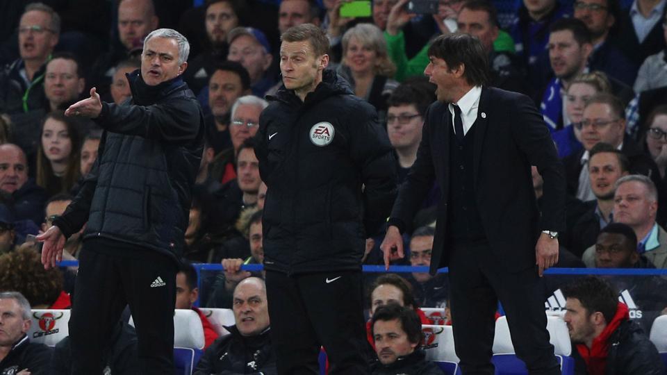 Jose Mourinho,Antonio Conte,Manchester United