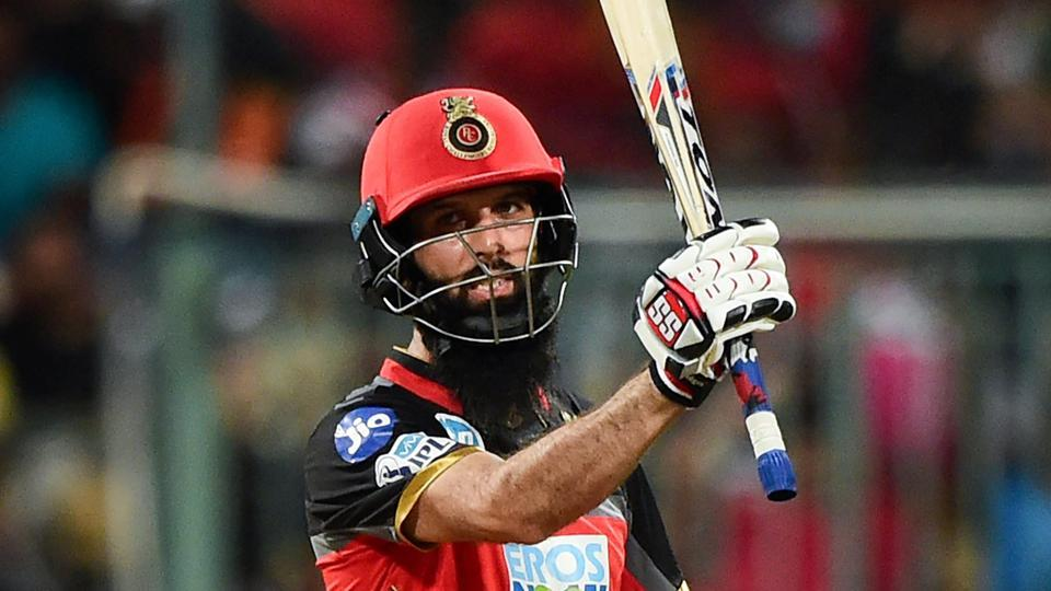 Royal Challengers Bangalore's Moeen Ali helped set up the side's win over Sunrisers Hyderabad in an IPL 2018 match in Bengaluru on Thursday.