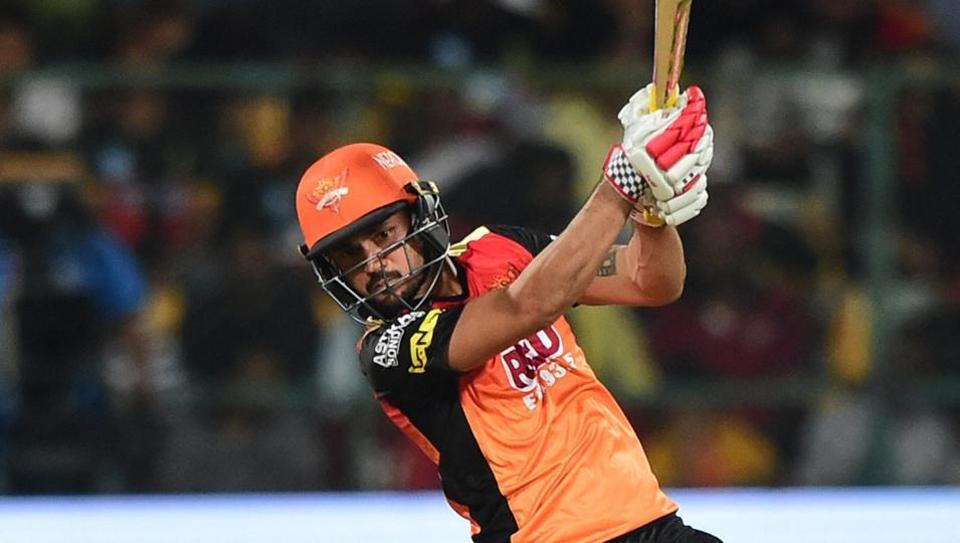 IPL 2018,Manish Pandey,Sunrisers Hyderabad