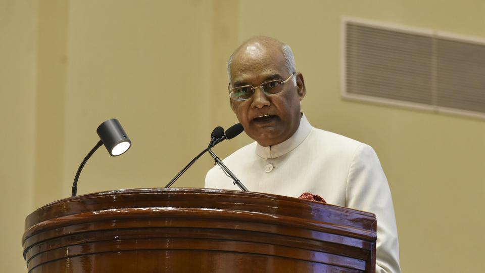 President Ram Nath Kovind will stay at Mashobra's Retreat Building, part of the presidential estate in Himachal Pradesh, from where he was turned away by the staff two years ago. Kovind will embark on a three day visit to the state capital Shimla on May 20. (Raj K Raj  /  HT Photo)