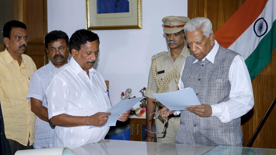 KG Bopaiah,Karnataka pro-tem speaker,Vajubhai Vala
