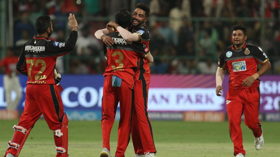 Royal Challengers Bangalore (RCB) defeated Sunrisers Hyderabad (SRH) by 14 runs in their IPL 2018 clash in Bengaluru on Thursday. (BCCI)