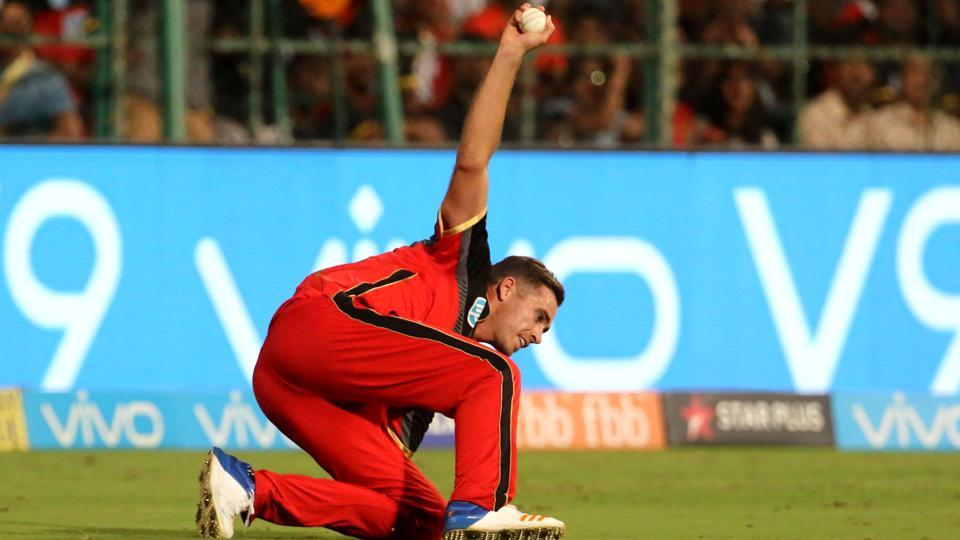 Tim Southee seemed to have taken a clean catch off Alex Hales in the IPL 2018 match between Royals Challengers Bangalore and Sunrisers Hyderabad on Thursday.