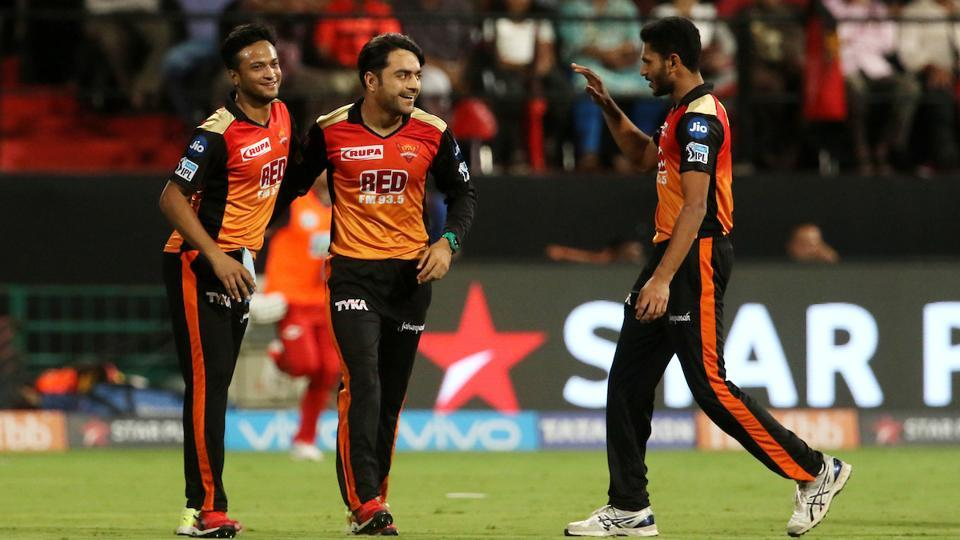 Despite a poor bowling performance from the team, Rashid Khan put in an impressive shift for SRH with figures of 3/27. (BCCI)