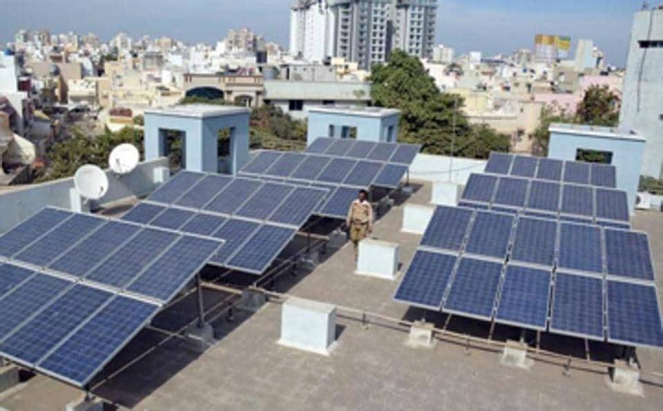 The Uttar Pradesh New and Renewable Energy Development Agency (UPNEDA), Allahabad is producing 2500 kilowatt electricity each day from rooftop solar power plants