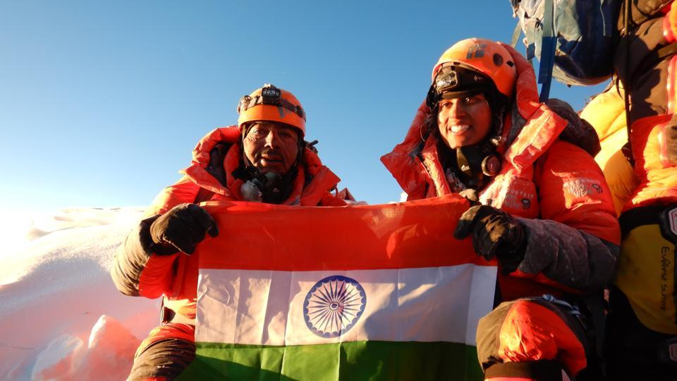 Mt Everest,Everest climbers,Father-daughter from Gurugram