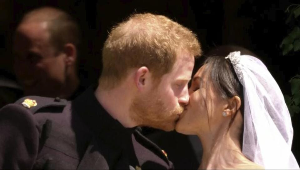 Just Married Prince Harry And Meghan Markle Declared Husband And