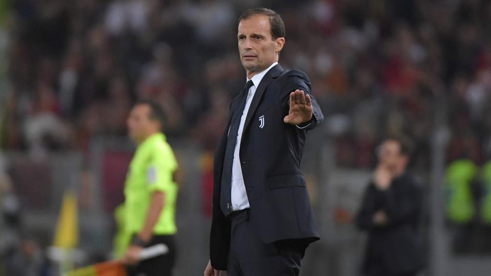"""Massimiliano Allegri on Friday said that it was """"highly likely"""" that he would remain with Juventus next season."""