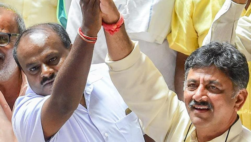 Karnataka government,Congress-JD(S) alliance,DK Shivakumar