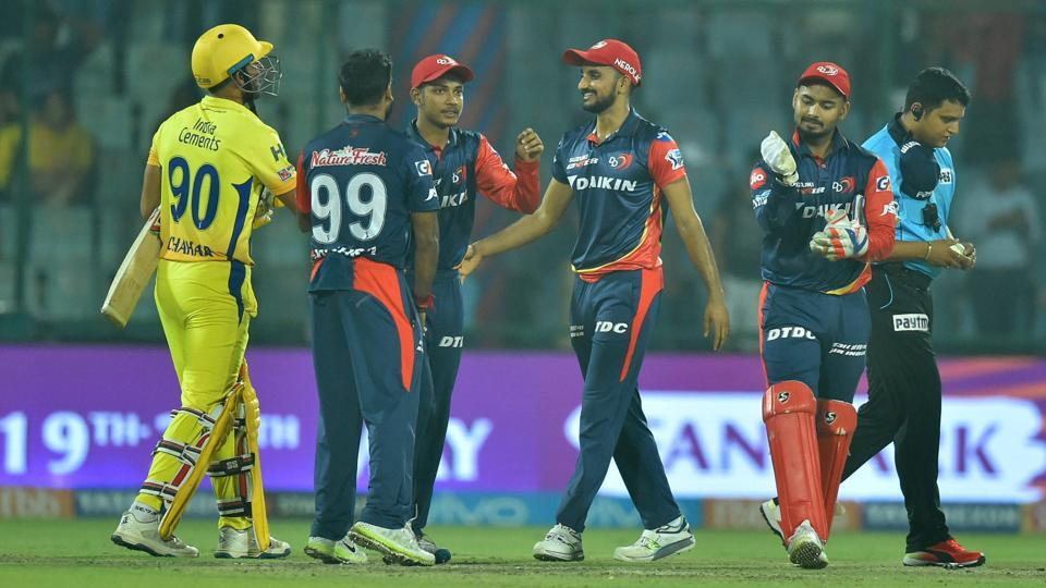 Chennai Super Kings lost tamely by 34 runs in their IPL 2018 match against Delhi Daredevils.