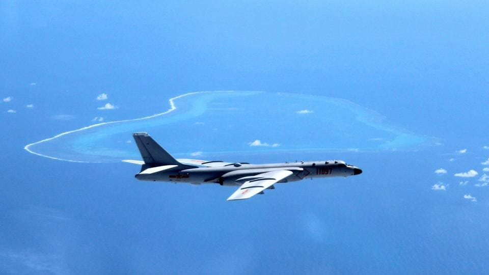Chinese air force,Chinese bombers,South China Sea