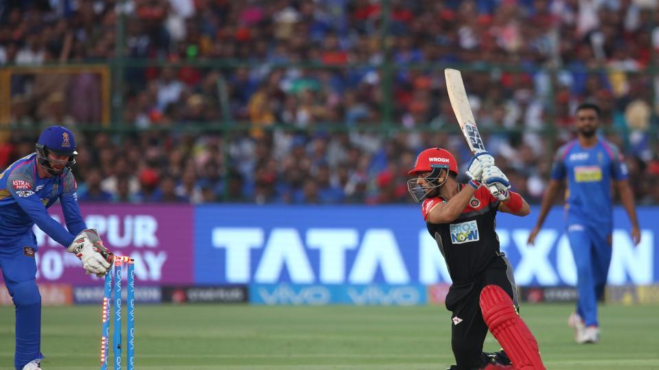 RCB's collapse handed the initiative back to RR who kept the pressure.  (BCCI)