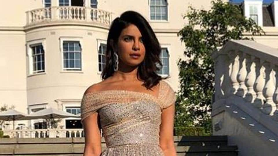 Priyanka Chopra Changes Into The Dreamiest Gown For Meghan Markle