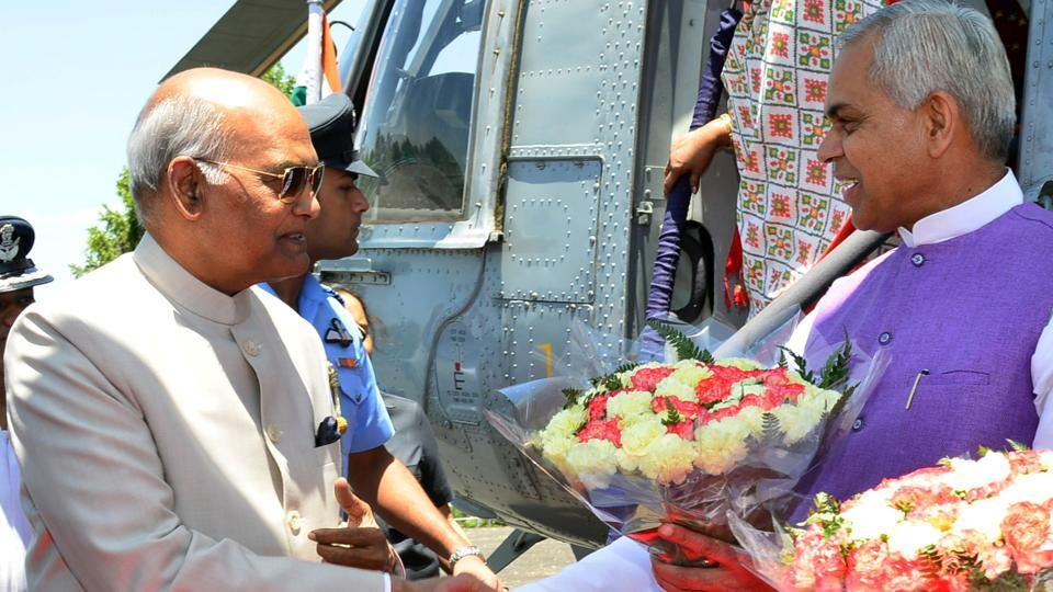 Ramnath Kovind,President Kovind,Himachal
