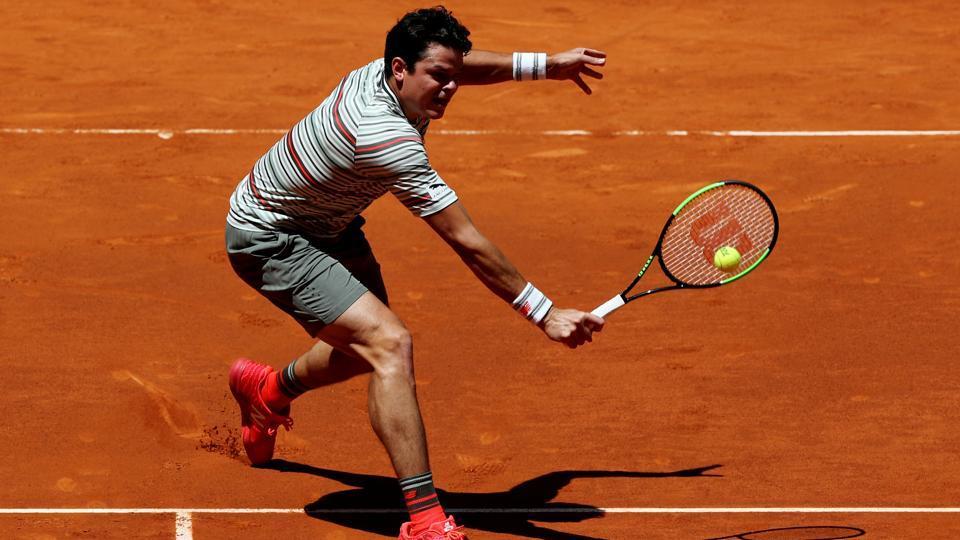 Milos Raonic,French Open,Tennis
