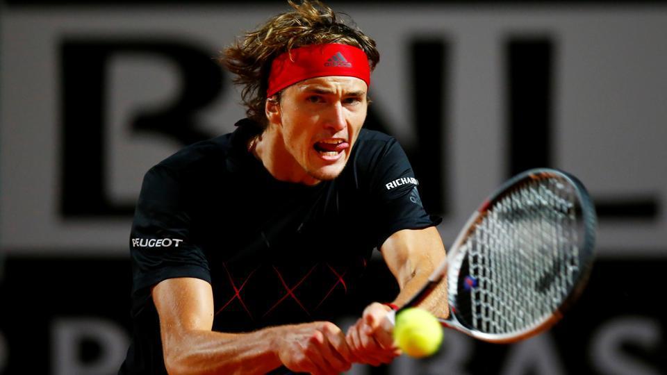 Alexander Zverev,Marin Cilic,Italian Open tennis