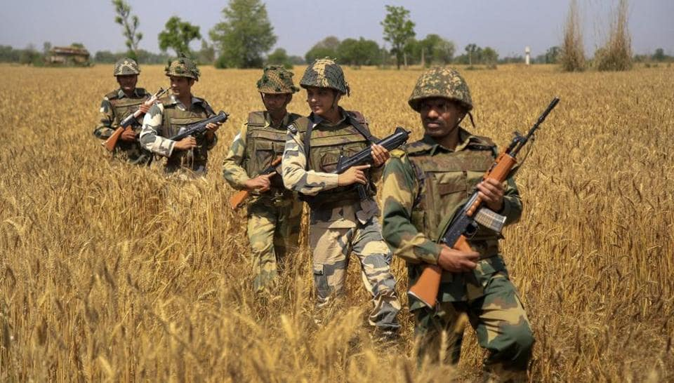 Pakistan Rangers,Border Security Force,India Pakistan border