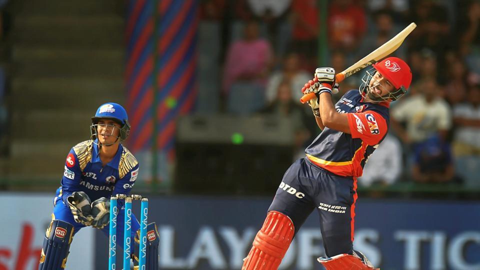 Rishabh Pant played 64 runs innings against Mumbai Indians (Photo Source - IANS).