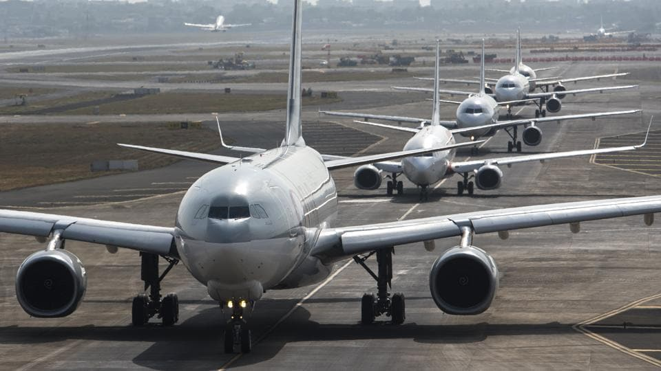 In addition to the upgradation work, the main runway 27 was unavailable for operations from noon to 4pm, making flights to operate from the secondary runway 14-32. This also delayed flight movements.