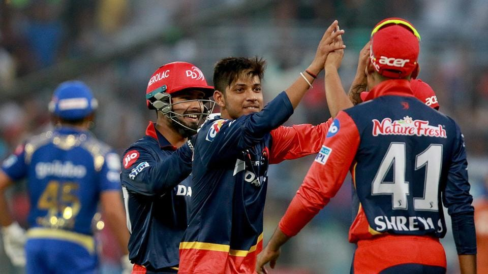 Delhi Daredevils (DD) beat Mumbai Indians (MI) by 11 runs in their last league game of the 2018 Indian Premier League (IPL) at the Feroz Shah Kotla in New Delhi on Sunday. With the loss, the defending champions were knocked out of the tournament.  (BCCI)
