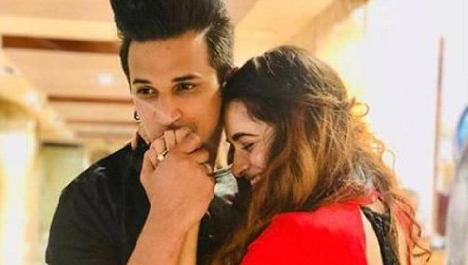 Prince Narula and Yuvika Chaudhary shared the news of their engagement by posting a picture on their respective Instagram pages in January this year.