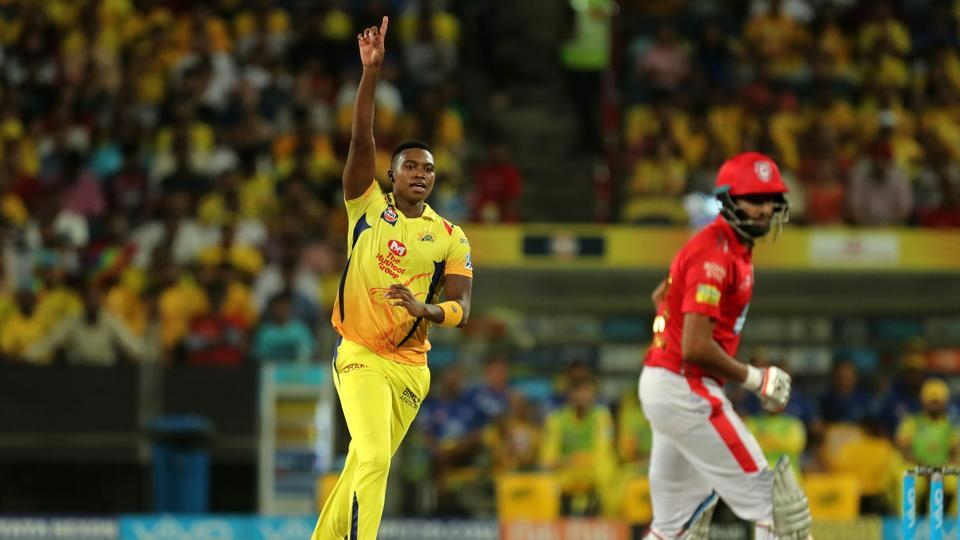 Lungi Ngidi finished with figures of 4/10 as KXIP were skittled out for 153. (BCCI)