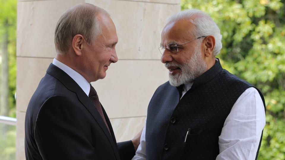 Narendra Modi,Vladimir Putin,Modi-Putin meet