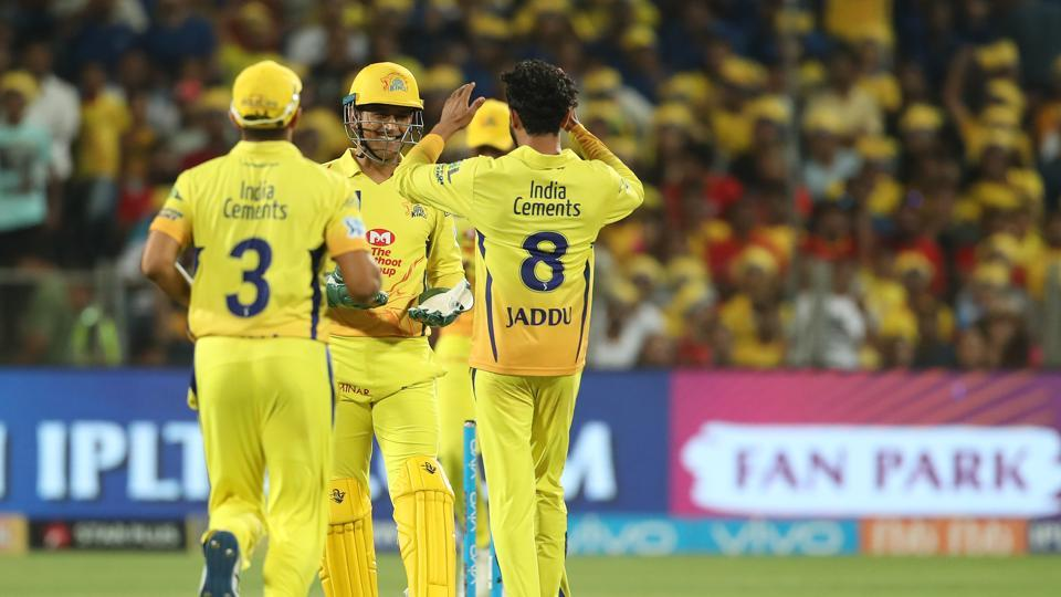 The scored of 153 meant that CSK had to be bowled out for a very low total for KXIP to qualify for the play-offs. (BCCI)