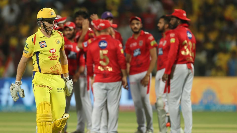KXIP put some pressure on CSK with a few wickets, but it was too little, too late. (BCCI)