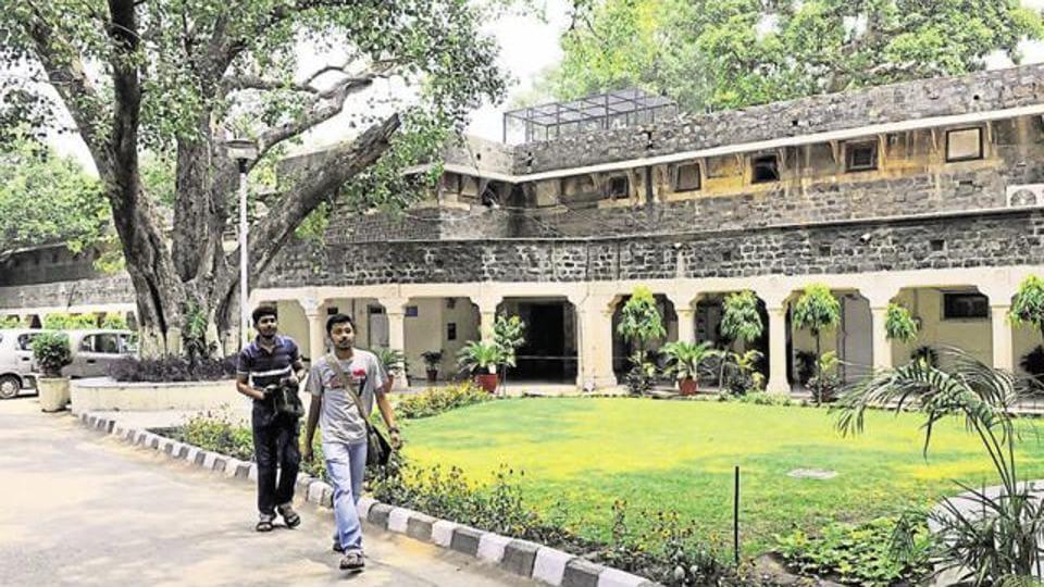 The Ambedkar University at Kashmiri Gate in New Delhi.