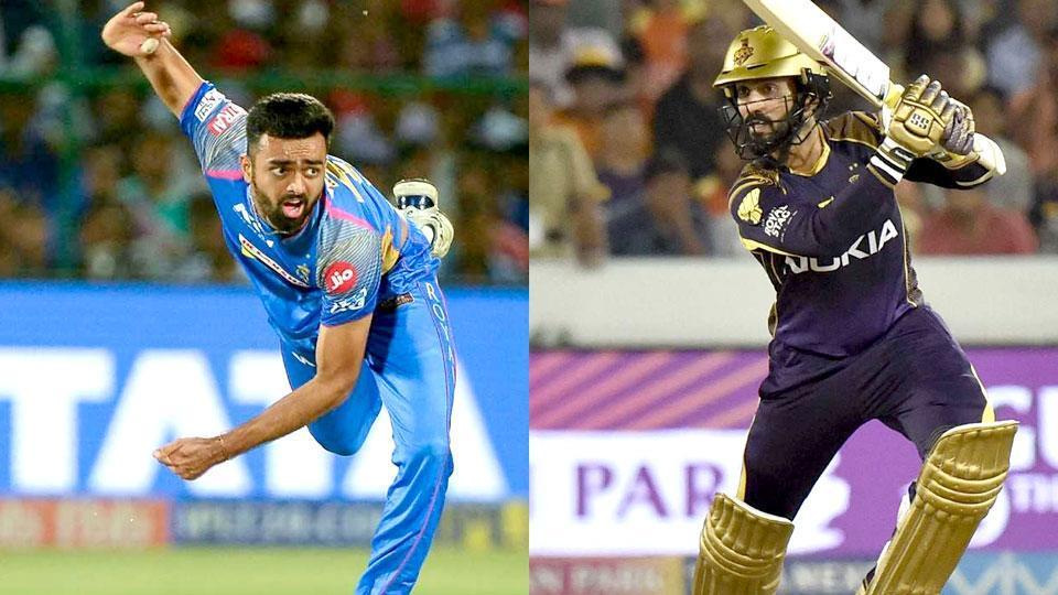 IPL 2018,Kolkata Knight Riders,Rajasthan Royals