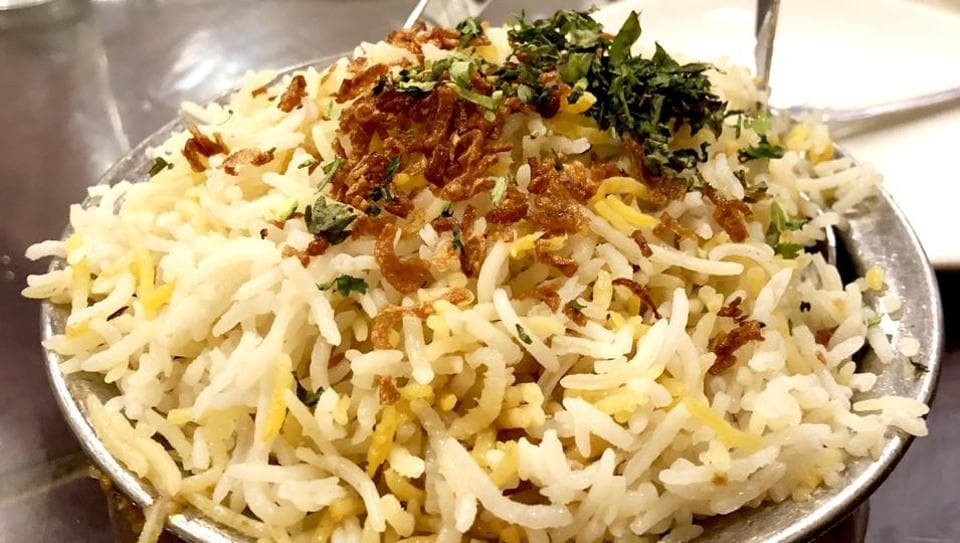 The Shah Ghouse biryani.