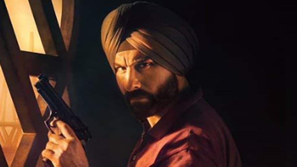 Saif Ali Khan stars as Sartaj Singh in Netflix's Sacred Games.