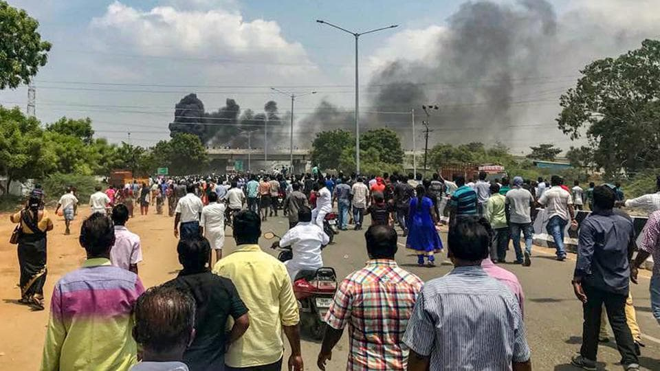 Anti-Sterlite protest in TN turns violent, 20 injured