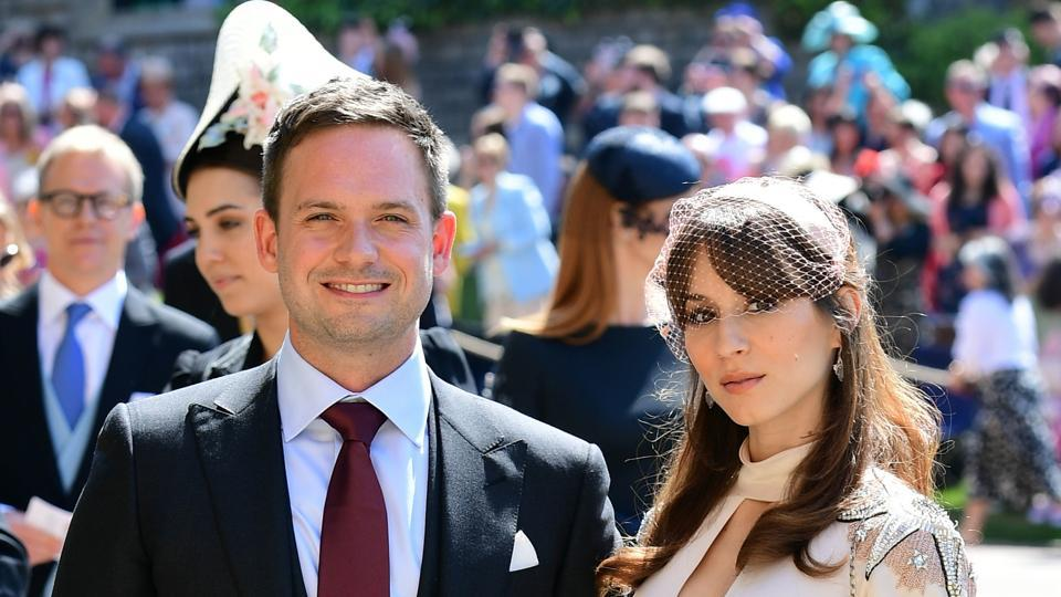Royal Wedding Time In Us.Suits Patrick J Adams Posts Unflattering Photo Of Woman After Royal