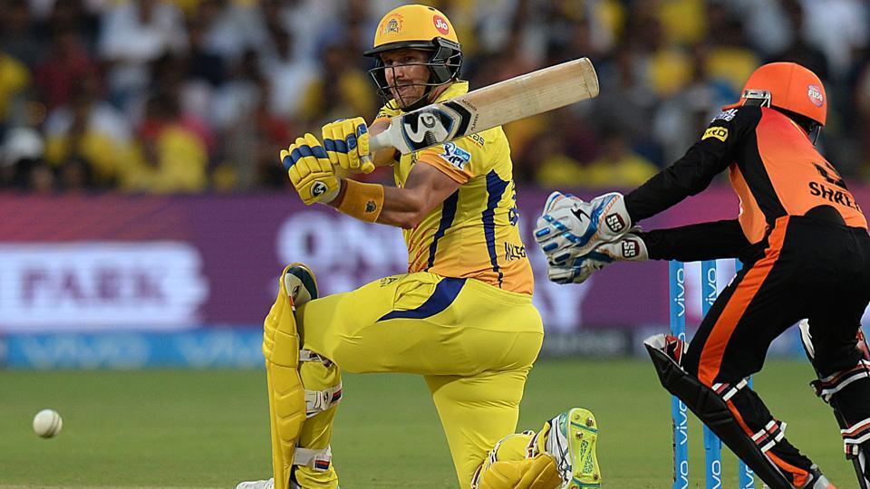 IPL 2018,Shane Watson,MS Dhoni