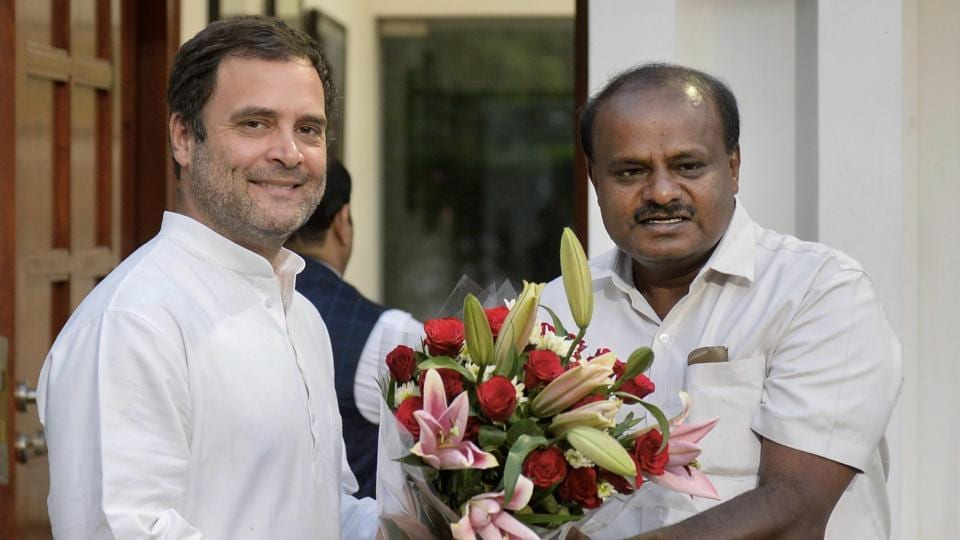Kumaraswamy,JD(S),Congress