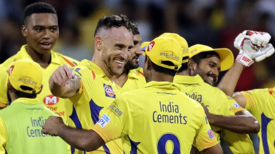 IPL 2018: Dwayne Bravo and MS Dhoni celebrate CSK victory