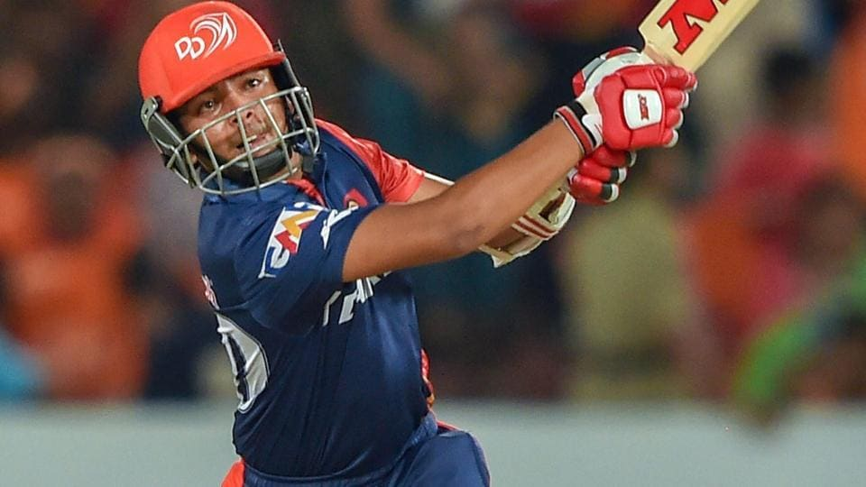 Prithvi Shaw performed brilliantly for Delhi Daredevils at the Indian Premier League (IPL) 2018.