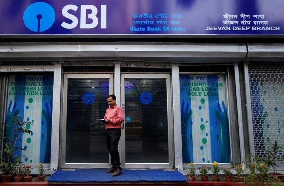 State Bank of India (SBI) reported its deepest-ever quarterly loss on Tuesday, far beyond estimates, as the Reserve Bank of India set aside more provisions for bad loans after a change in banking regulation. Gross bad loans as a percentage of total loans rose to 10.91% from 10.35% three months earlier and 6.90% a year prior, SBI said. (Rupak De Chowdhuri / REUTERS File)