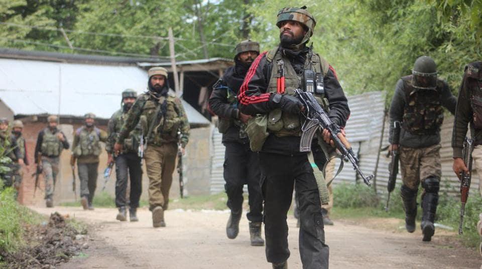Army firing,Shopian,Jammu and Kashmir