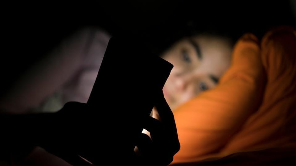 Using cell phones late at night can lead to less alertness on waking up in the morning.