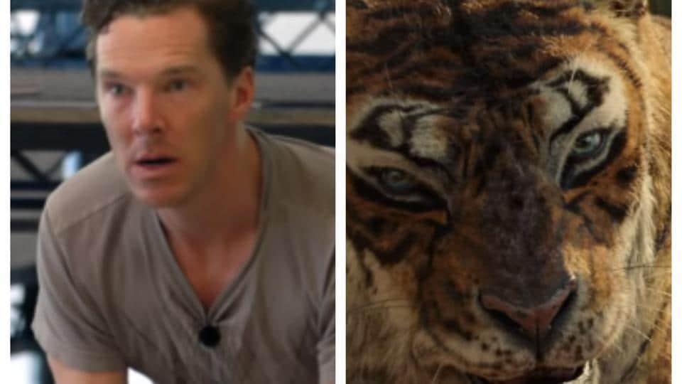 Benedict Cumberbatch plays Shere Khan in Mowgli.