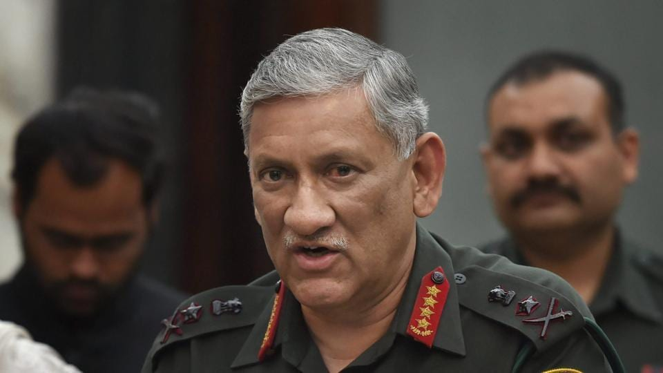 Bipin Rawat,army chief,Indian army