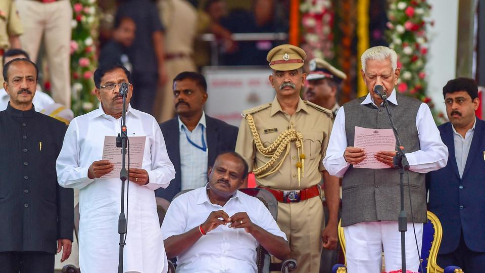 G Parameshwara,Karnataka,Karnataka Oath ceremony