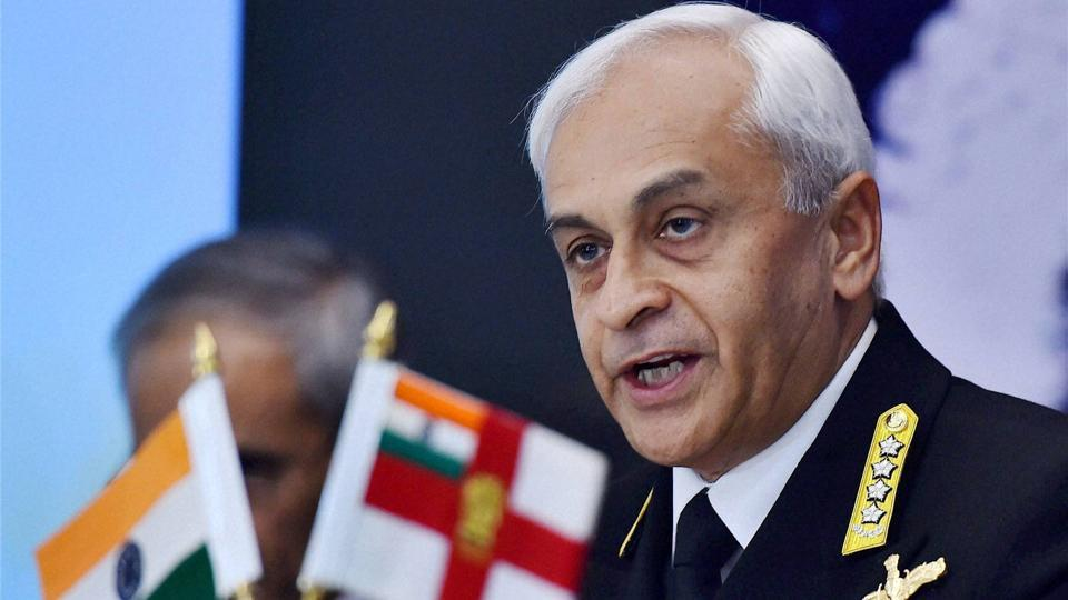 Indian Navy,Navy Chief,Admiral Sunil Lanba