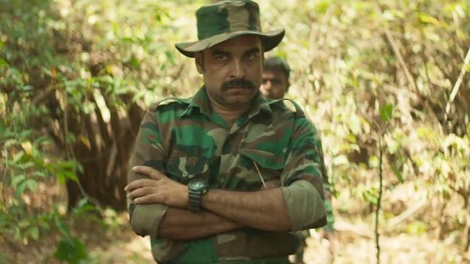 Pankaj Tripathi in a still from Newton.