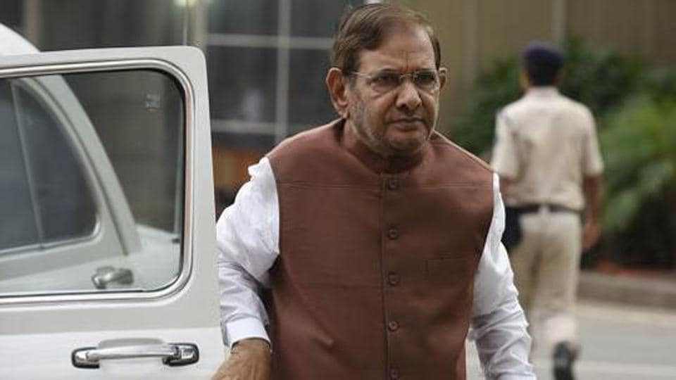 Sharad Yadav's disqualification as Rajya Sabha member valid as he has formed another political party: JD(U) to Delhi HC