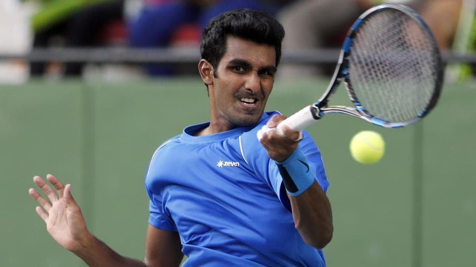 Prajnesh Gunneswaran knocked out 146th-ranked opponent Marcelo Arevalo 6-4 6-1 to come closer to the French Open main draw.